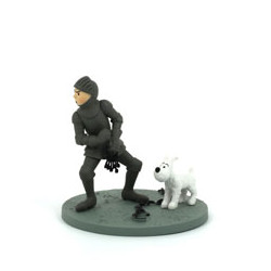 Tintin en armure