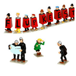 Hergé characters from Quick...