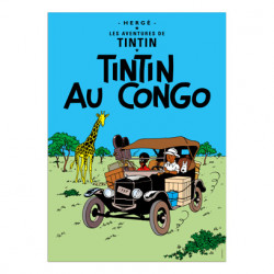 Poster - Tintin in the Congo