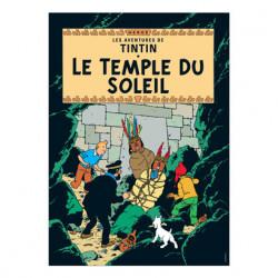 Poster – Le Temple du Soleil