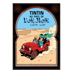Poster – Tintin au pays de...