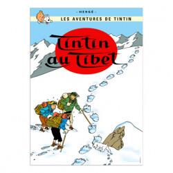 Poster – Tintin au Tibet