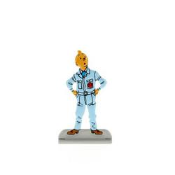Tintin in boiler suit