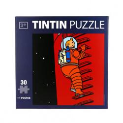 Puzzle Tintin – Lune-échelle