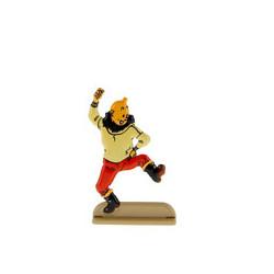 Tintin danse une gigue