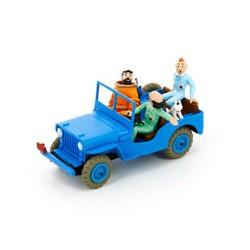 Jeep bleue - Objectif Lune