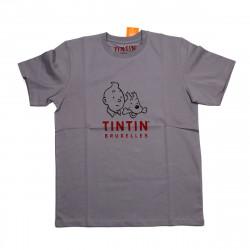 T-Shirt  Tintin Bruxelles