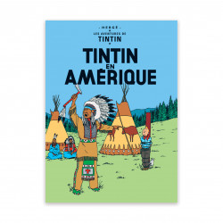 Carte Postale - Tintin en...