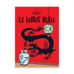 Carte Postale - Le Lotus bleu