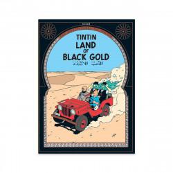 Postcard - Land of Black Gold