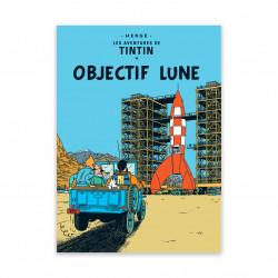Carte Postale - Objectif Lune
