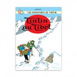 Postcard - Tintin in Tibet