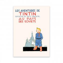 Postcard - Tintin in the...