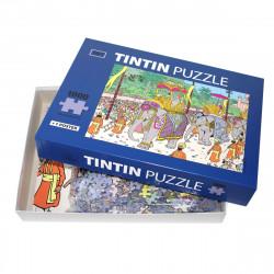 Puzzle Tintin - Éléphant...