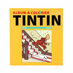 Tintin et des personnages...