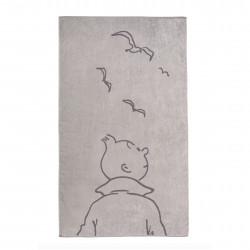 Drap de plage Tintin