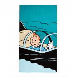 Tintin beach towel