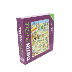 PUZZLE - TINTIN KING...