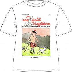 T-shirt Tintin en Kilt