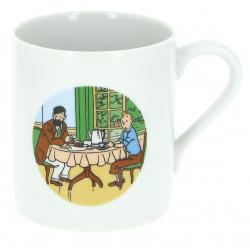 Tintin & Haddock breakfast Mug