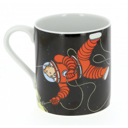 Mug Tintin & Haddock Lune