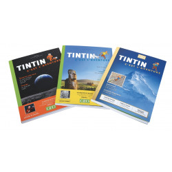 Pack Tintin c'est l'aventure