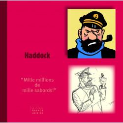 Livre personnage Haddock