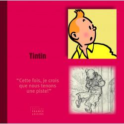 Livre personnage Tintin