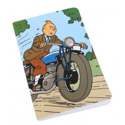 Carnet de Note - Tintin Moto