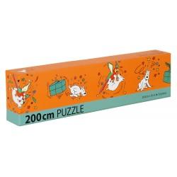 Puzzle - Milou et perroquet