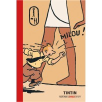 Petit agenda de poche Tintin 2022